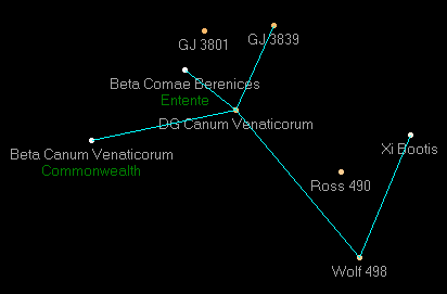 DG Canum Venaticorum star map